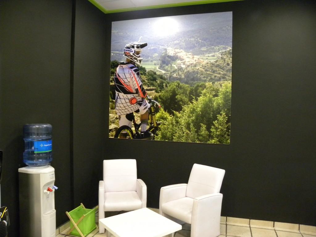 Sala de espera Bike Addiction